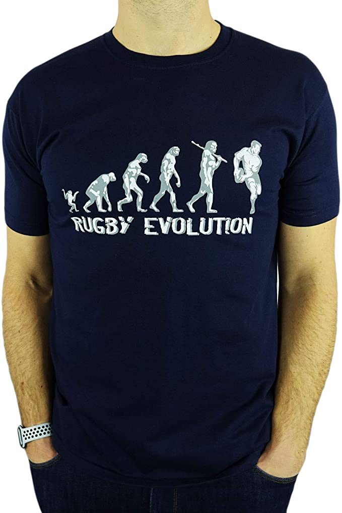 rugby evolucion hombre camiseta
