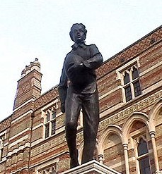 monumento a William Webb en Rugby School